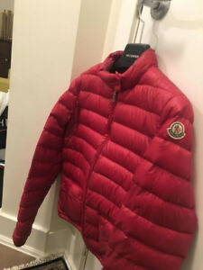 Women's Moncler Puffer Jacket (Hot pink, Size 3)