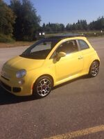 2012 FIAT 500 SPORT, FULLY LOADED,