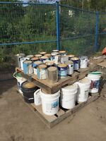 Miscellaneous paints and glues
