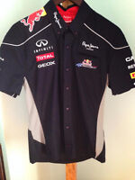 BLOUSE CHEMISE RED BULL FORMULE 1 COURSE AUTOMOBILE