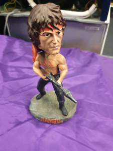 FIGURINE; HOLLYWOOD COLLECTIBLES - RAMBO; RH158149