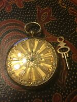 Jos Johnson Liverpool pocket watch 18K solid gold