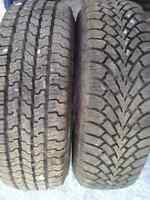 WHY BUY NEW **** LIGHTLY USED WINTER TIRES ON RIMS PKG !