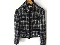 Chanel inspired woman's jacket size 10