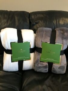 Brand New Kate Spade blanket - King size. Beautiful soft fleece