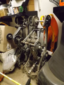 Used Snowmobile Tracks, Suspension, and more