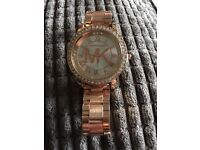 Brand new MK watch rose gold