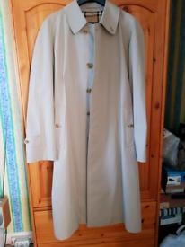 Burberry Trench Coat, unworn, size 48 Regular