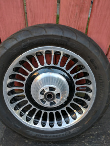 Harley tire and rim
