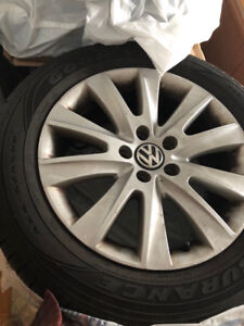 17'' VW Rims + All Seasons (Good Year)