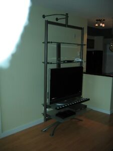 Very Unique Flat Screen/ Stereo Stand