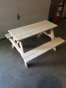 Children's picnic tables. Many available