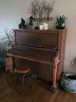 Refinished Upright Piano