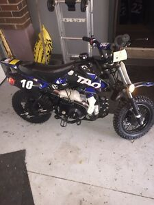 110cc Tao pocket dirt bike