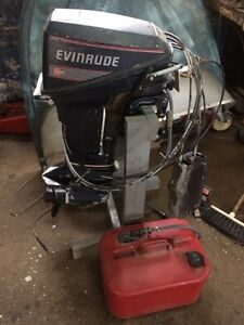 9.9 hp evinrude outboard engine