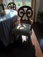 French dinning/kitchen chairs