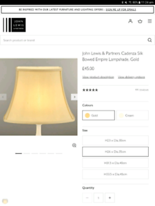 John Lewis [UK] lamp
