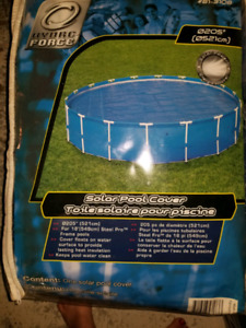 Solar pool covers REDUCED PRICE July 27