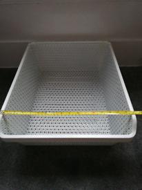 3 ikea wire drawer baskets