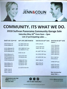 Huge Community Garage Sale Surrey BC