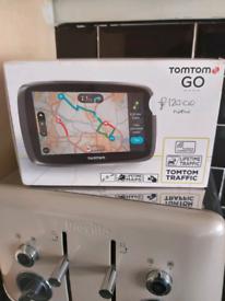 Tomtom go5000 satnav lifetime maps lifetime traffic with built in sim