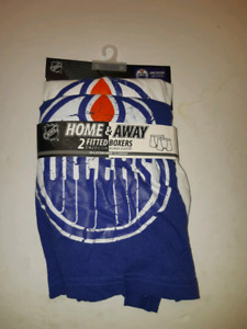 Edmonton Oilers Home & Away Fitted Boxers  Brand new