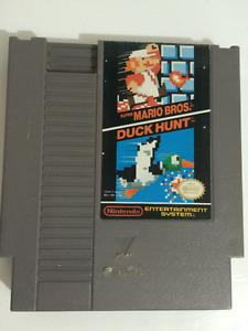 NES Super Mario and Duck Hunt Nintendo Game