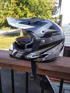 Youth atv dirt bike helmet
