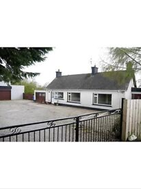 5 Bedroom Bungalow with 2.62 Acres, 72 Ballybolllen Road, Ahoghill, Co Antrim