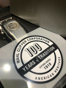 WAHL 100 YEAR ANNIVERSARY LIMITED EDITION CORDLESS SENIOR CLIPPE