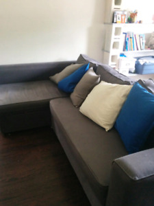 Ikea sofa-bed with storage MOVING SALE $60