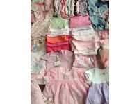0-3 baby girl clothes hundreds of items