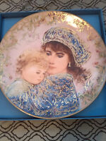 "Collector Plate, ""Catherine and Heather"""