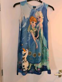 Girls Disney Frozen nightdress age 11-12