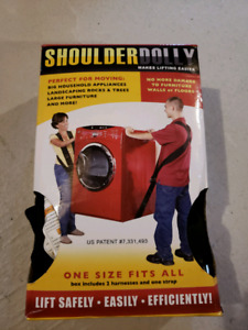 Shoulder dolly, a must have for moving