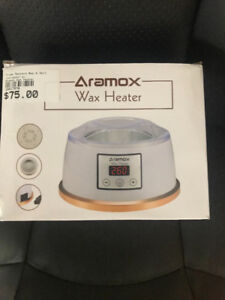 Aramox wax heater brand new in box and great deal