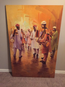 African Paintings (Oil on Canvas)