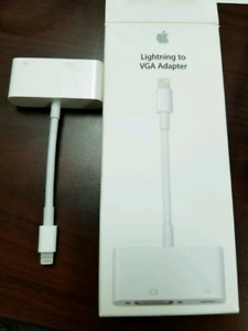 Apple cellphone to computer monitor adapter