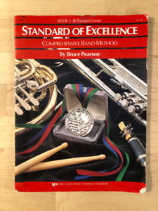 Book 1 – Trumpet/Cornet Standard of Excellence Band Method