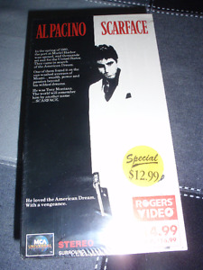 DOUBLE CLASSIC COMBO PRICED MOVIES FOR SALE...TITANIC & SCARFACE