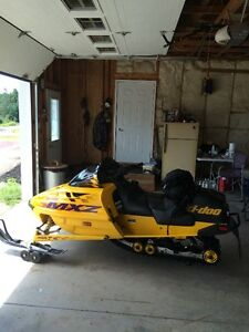 1999 MXZ SKI DOO FOR SALE