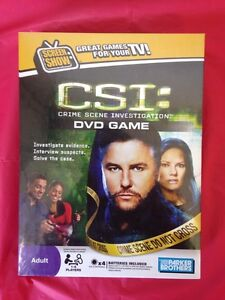Sealed CSI DVD game free delivery all of Toronto