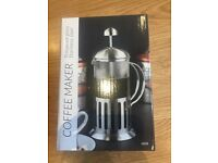 4 x stainless steel 350ml coffee makers