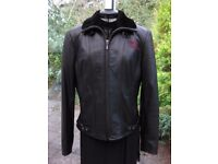 HARLEY DAVIDSON LEATHER JACKET, LADIES, GENUINE LIMITED EDITION, AS NEW
