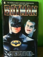 Vintage Batman & Batman Returns Books