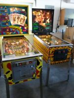 2 Pinball Machines Stern HotHand Gottlieb El Dorado City of Gold