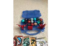 19 Bakugan case and cards