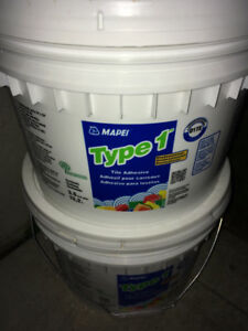 Tile Adhesive Mapei Type 1 brand new 13.2l