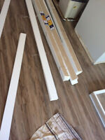 Top quality installation of TRIMS, Baseboards, Casing. SELLING a