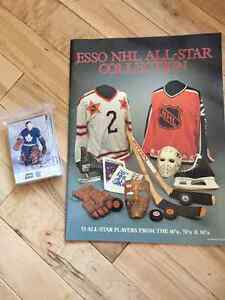 ESSO NHL All-Star Collection - Book and Cards
